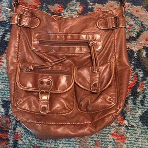 Brown Mini Crossbody Bag 💼 ✨💕